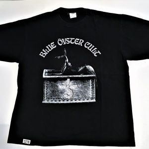 Blue Oyster Cult Black Tee Shirt Size XL